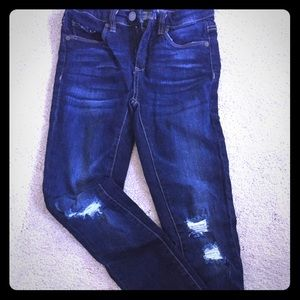 Blank NYC distressed skinny jeans - size 24